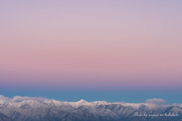 写真: 冬の空から。#1