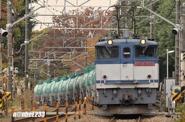 8078レ EF65 2089+タキ12B(JP-8)