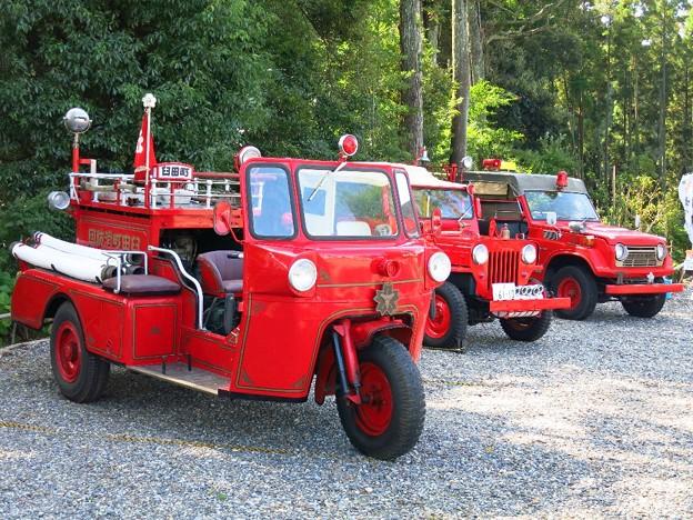 写真: 消防車