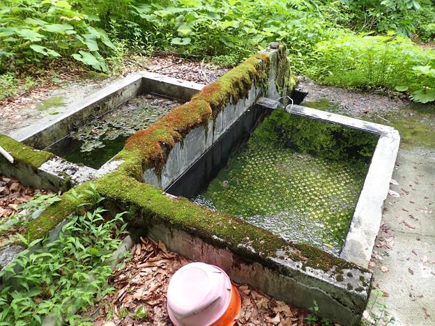 見立温泉 見立の湯(野湯)@岩手県西和賀町