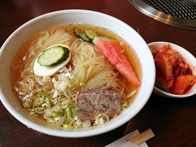 盛岡冷麺・別辛・大盛@三千里雫石店・雫石町