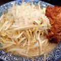 鶏二郎らーめん・野菜多め・油多め・にんにく多め@なかしま堂・盛岡市