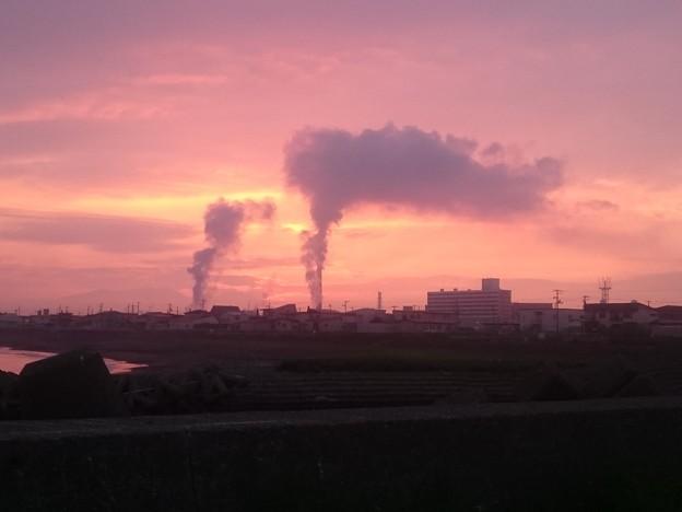 5月24日(水)の夕焼け