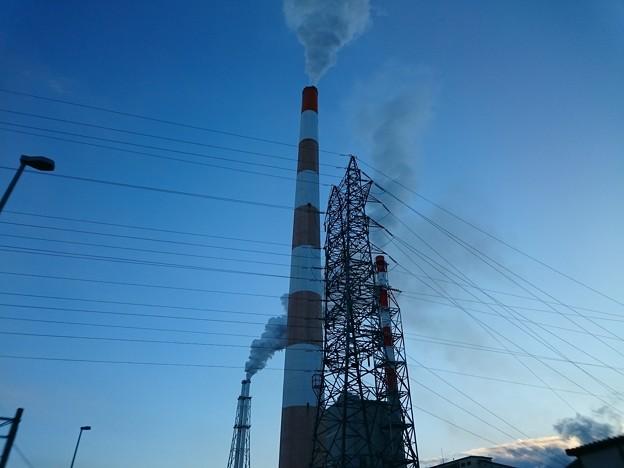 1月11日(木)の煙突
