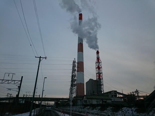 1月23日(火)の煙突