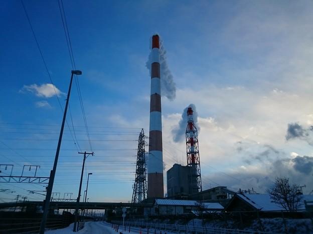 1月24日(水)の煙突