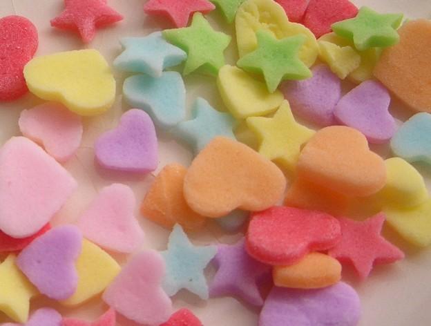 写真: かわいい砂糖菓子