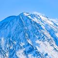 厳冬の富士山頂