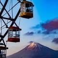 写真: 富士見のゴンドラ