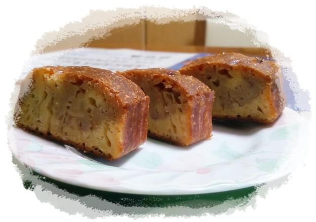 こしあんパウンドケーキ(失敗)