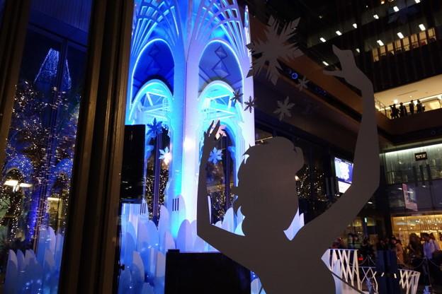 写真: アナと雪の女王イルミネーション2014-3