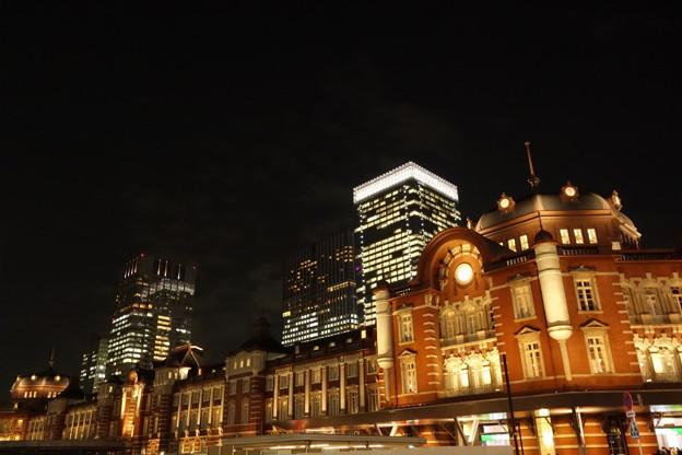 東京駅のイルミネーション2014