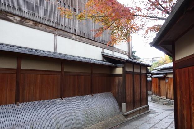 石塀小路の紅葉!2014