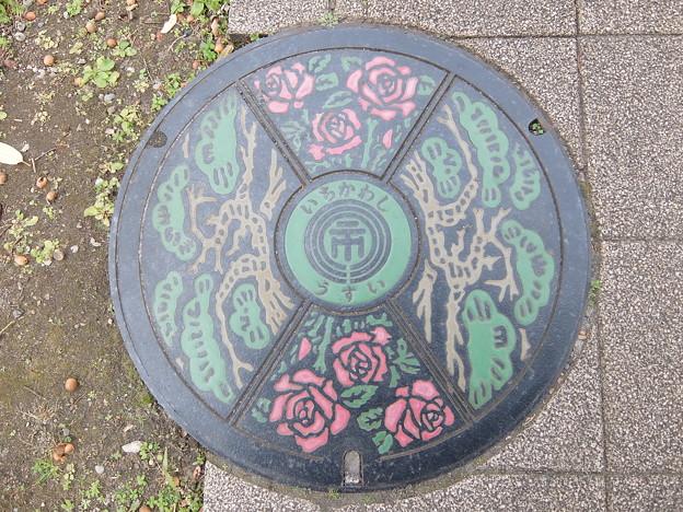 千葉県・市川市(マンホールカード図案)