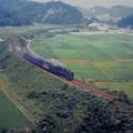 小浜線-加斗付近を走る蒸気機関車【蔵出し】