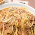 写真: ラグーソース スパゲティ
