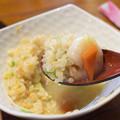 海鮮麺のスープを