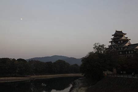夕方の岡山城 - 1