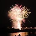 写真: 長良川の花火