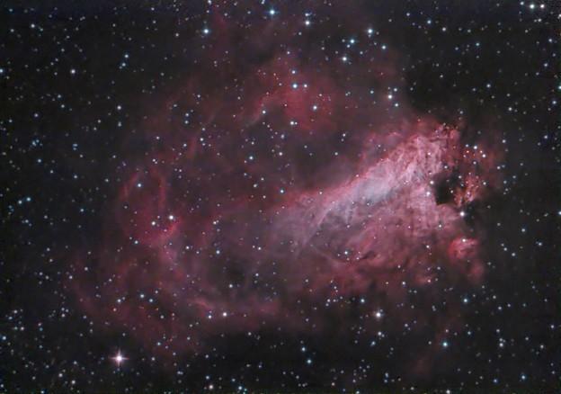 白鳥星雲 M17
