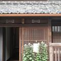 写真: 千本格子の家