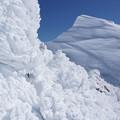 Photos: [20150221]岩氷とシュカブラ(谷川岳)