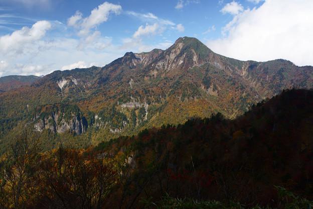 [2017年10月09日]戸隠山山頂から高妻山