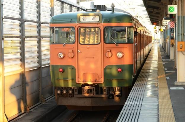 115系T1133編成465M前橋発車!