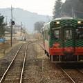 交換列車モオカ14-8茂木行き到着
