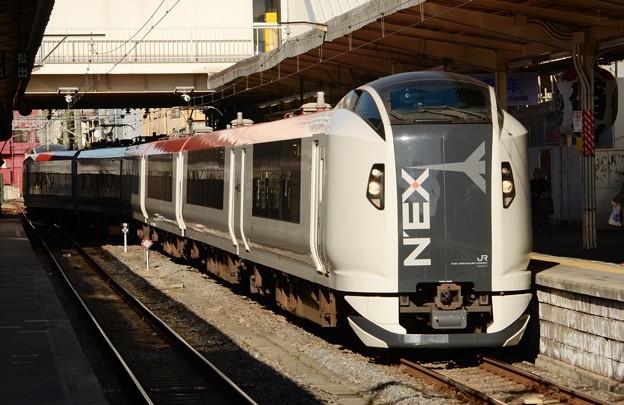 Photos: E259系成田エクスプレス30号 成田1番通過!