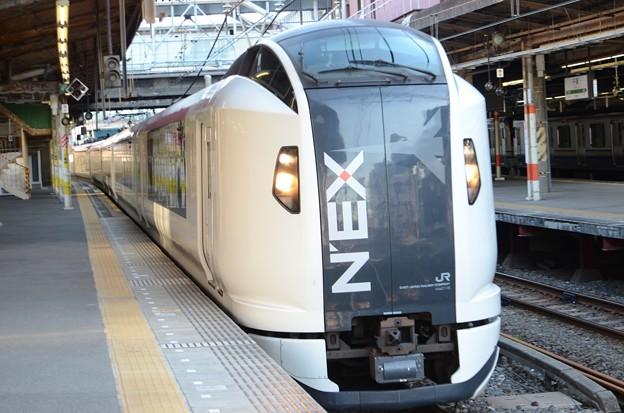 Photos: E259系成田エクスプレス32号 千葉7番通過!