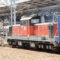 名古屋から関西本線へ進入するDD51 1803牽引2089レ