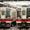 6050系200番台普通列車の並び