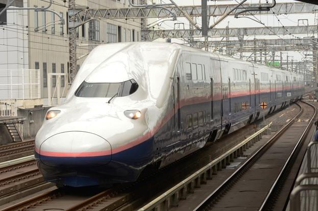 東北新幹線開業35周年記念号宇都宮通過!