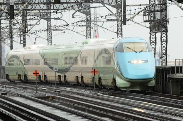 とれいゆつばさ「山形新幹線開業25周年記念号」返却回送