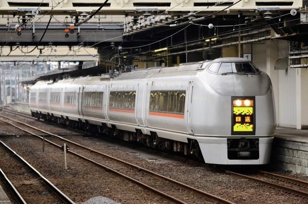 651系回送高崎1番入線
