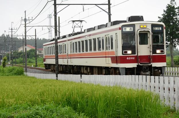 野岩鉄道6050系100番台会津田島行き