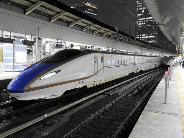 E7系トップF1編成長野新幹線最終あさま631号