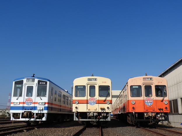 関東鉄道常総線キハの並び