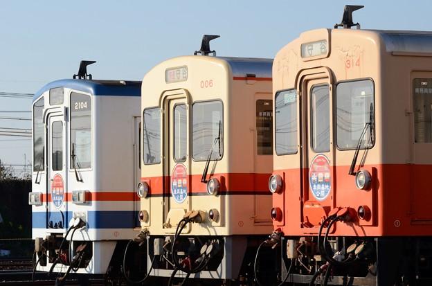 関東鉄道常総線水海道車両基地公開イベント
