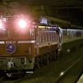 EF81 81牽引カシオペア紀行号雀宮2番入線