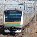 写真: E233系U621編成熱海行き(快速アクティ)