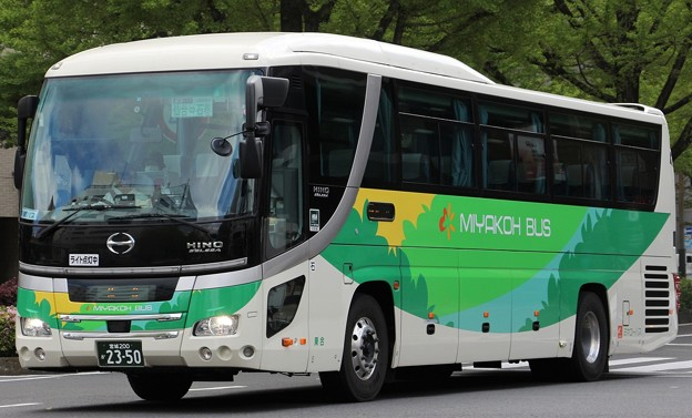 ミヤコーバス 昼間高速バス(ハイデッカー)