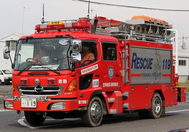 岡山県笠岡地区消防組合 ll型救助工作車
