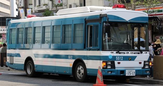 兵庫県警 近畿管区機動隊 大型輸送車