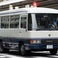 京都府警 検問車