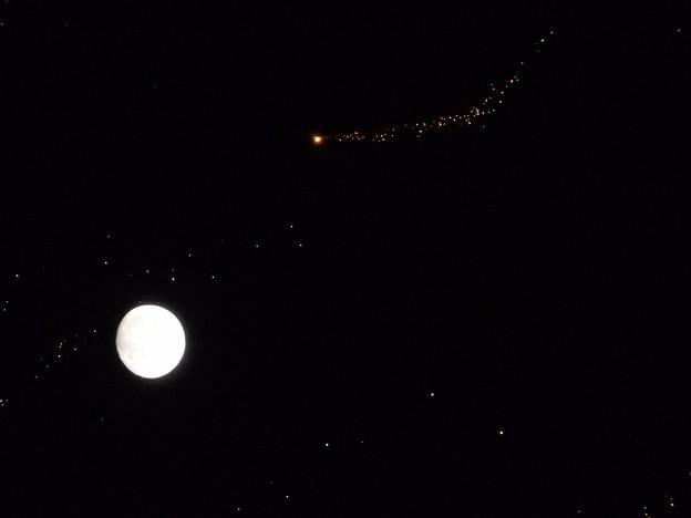 お月さまとティンカーベル