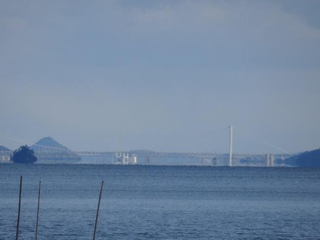 写真: 瀬戸大橋と蜃気楼3