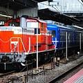 Photos: 乗務員訓練 DD51-1192+12系客車