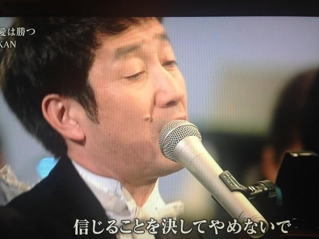 写真: KANちゃん、NHKでこんばんは!